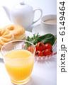 オレンジジュース オレンジ ジュースの写真 6149464