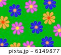 レトロな花柄 6149877