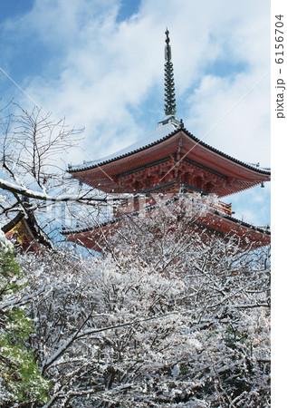 清水寺・雪景色 6156704