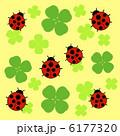 四つ葉のクローバー てんとう虫 四つ葉のイラスト 6177320