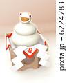 巳 鏡餅 ヘビのイラスト 6224783
