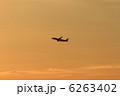 ジェット機 離陸 旅客機の写真 6263402