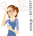 発熱 風邪 熱のイラスト 6274557
