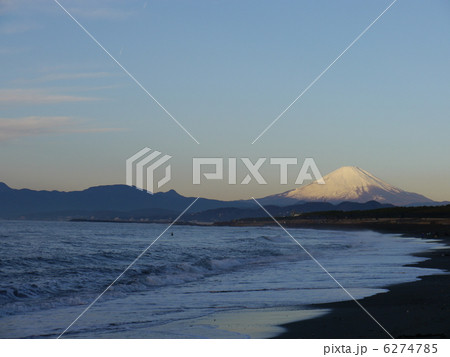 海と富士山 6274785