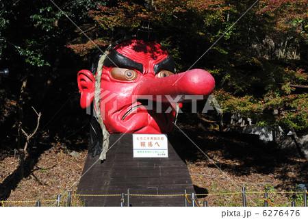 京都(洛北)鞍馬の天狗のオブジェ 6276476