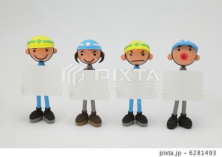 粘土の作業員B 6281493