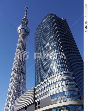 東京スカイツリーとソラマチ 6282006
