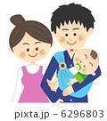 3人家族 上半身 6296803