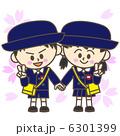 幼稚園児 入園 ベクターのイラスト 6301399