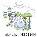 医療 患者 治療のイラスト 6303900