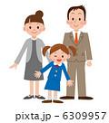 入学式 親子 女の子 6309957