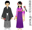 卒業 卒業式 袴のイラスト 6310868