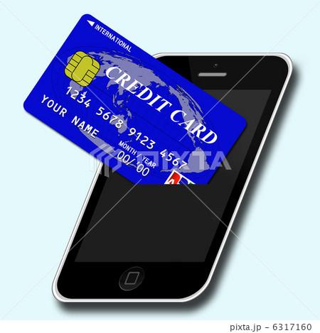スマホとクレジットカード 6317160