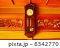 振り子 振り子時計 掛け時計の写真 6342770