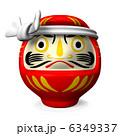 ダルマ 達磨 だるまのイラスト 6349337