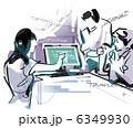 会社員 企画 プレゼンのイラスト 6349930