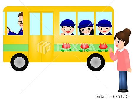 幼稚園バス ママ 6351232
