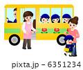 幼稚園バス 涙 6351234