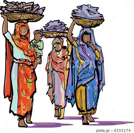 アフリカの女性 6355274