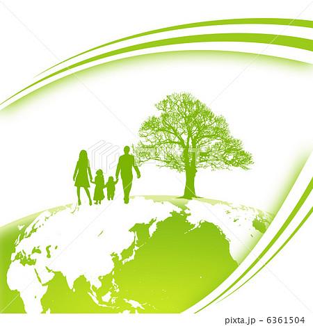 エコロジーのイラスト素材 [6361...