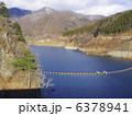 奥四万湖 四万川ダム 風景の写真 6378941