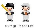 こども 少年野球 野球のイラスト 6382136