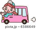 軽自動車 ベクター 宅配便のイラスト 6386649