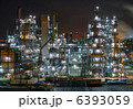 川崎工場の夜景2 6393059