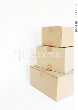 ダンボール 引越し 配達の写真素材 [6415825] - PIXTA
