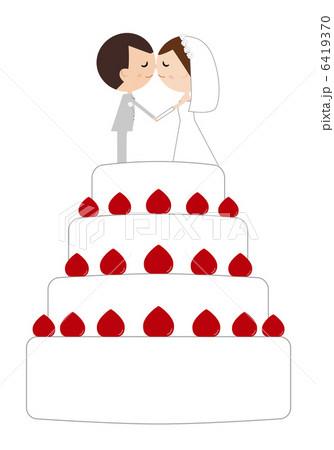 ウエディングケーキ の ...