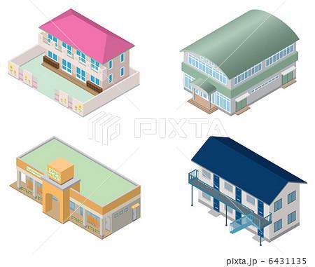 立体建物 6431135