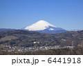 富士山 晴れ 青空の写真 6441918