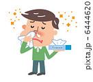 花粉アレルギー 鼻炎 鼻水のイラスト 6444620