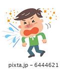 花粉アレルギー くしゃみ 症状のイラスト 6444621