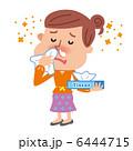 花粉アレルギー 鼻炎 鼻水のイラスト 6444715