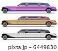 四輪車 自動車 リムジンのイラスト 6449830