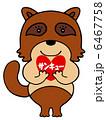タヌキ サンキュー たぬきのイラスト 6467758