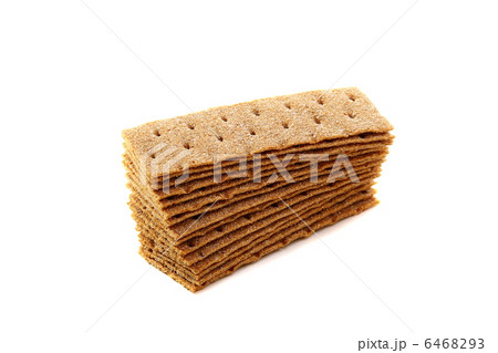 Cereal rye bread on a white background.の写真素材 [6468293] - PIXTA
