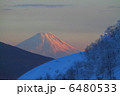 夕暮れの富士 6480533