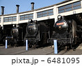 梅小路蒸気機関車館 機関車 蒸気機関車の写真 6481095