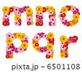 花の小文字、アルファベット、花、英語、 6501108