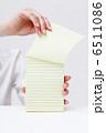 メモ用紙 メモ帳 メモの写真 6511086