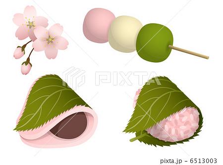 お花見和菓子 6513003