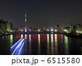 清洲橋とスカイツリーの夜景 6515580