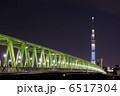 木根川橋と東京スカイツリー 6517304