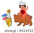 子供の日 金太郎 端午の節句のイラスト 6524532