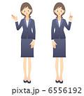 社員 女性社員 OLのイラスト 6556192