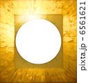 金色フレーム【集中線】 6561621