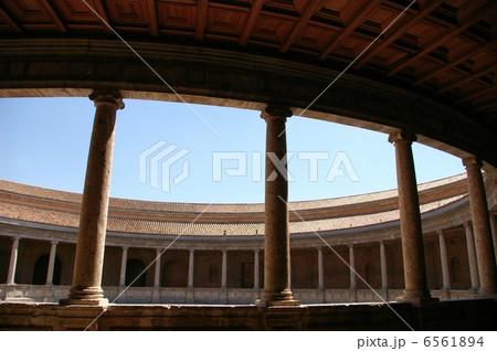 アルハンブラ宮殿のカルロス5世宮殿 6561894
