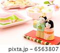 おひなさま 雛祭り 桃の節句の写真 6563807